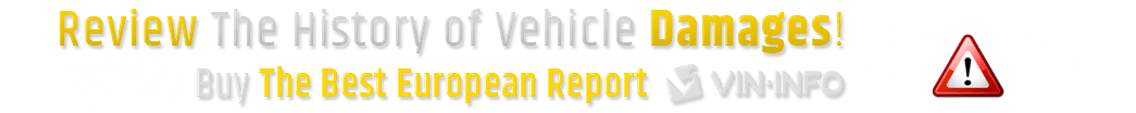 Vehicle Damages History